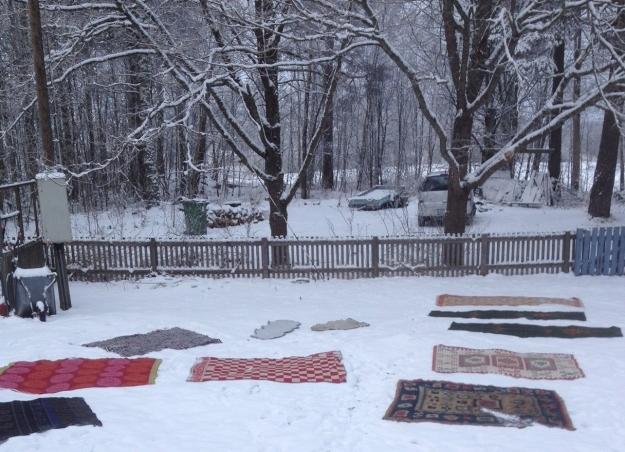 snötvätt
